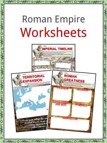 Roman Soldier Facts & Worksheets | Kids Study Resource