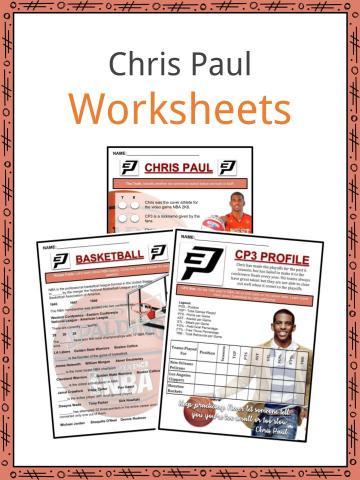 Chris Paul Worksheets