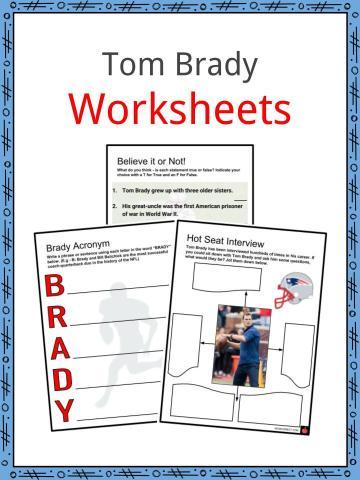 Tom Brady Worksheets