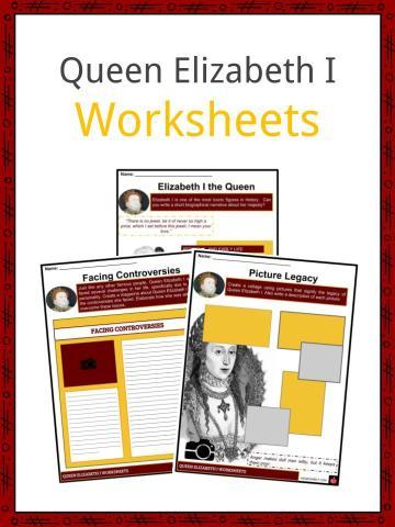 Queen Elizabeth I Worksheets