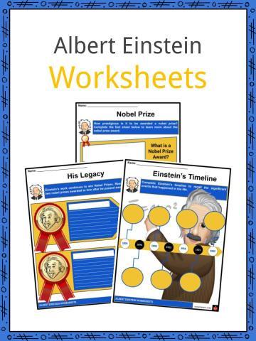 Albert Einstein Worksheets
