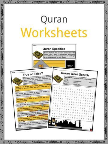 Quran Worksheet