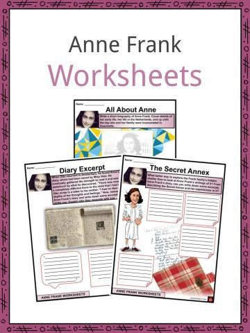 Anne Frank Worksheets