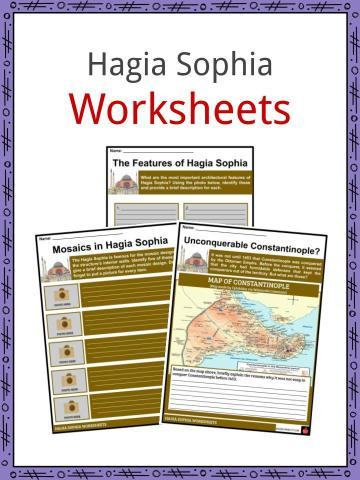 Hagia Sophia Worksheets