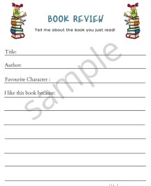 Book Review Activity