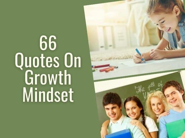 Quotes on growth mindset