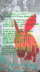 Image of street art poem graffiti in green writing with red painted donkey