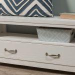 Kenwood Storage Bench In Distressed White Kids Furniture In Los Angeles