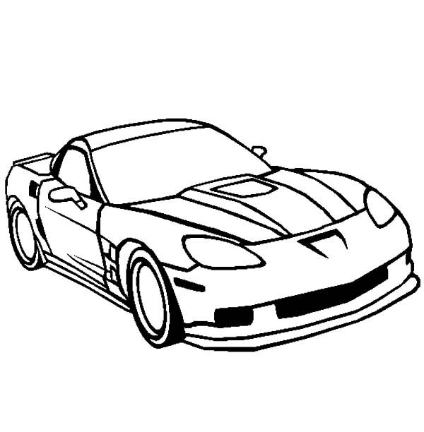 corvette zr1 cars coloring pages  kids play color