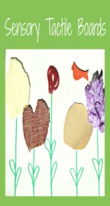 Learn how to make a sensory tactile board with various textures to help your child calm or soothe themselves