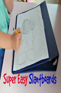 Save money on this DIY slantboard while helping your child improve their handwriting legibility. Try this out at school and home.
