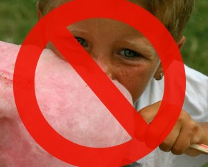 no cotton candy