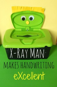 X-Ray Man for Excellent Writing