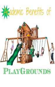 Learn how playing on various parts of a playground translates to improving your child's academics in the classroom.