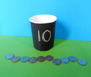 This sorting and counting coins in pots of gold game teaches kids early math skills. Perfect for use at school or home.