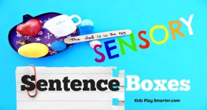 Sensory Sentence Boxes
