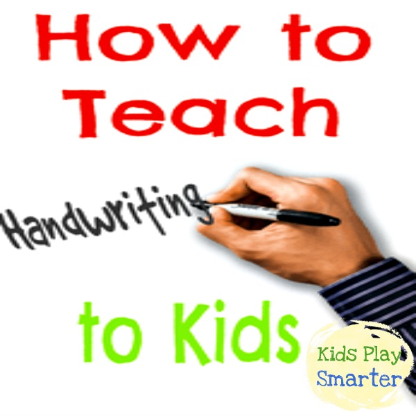 Video illustration for How to Teach Handwriting to Kids
