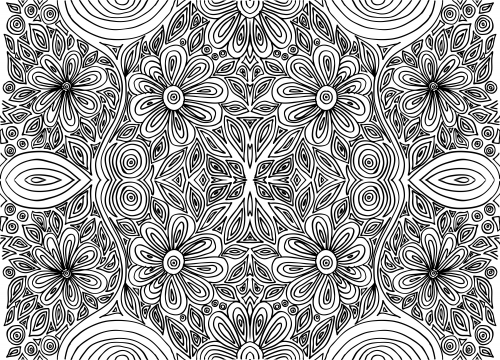 intricate coloring pages cooloring com
