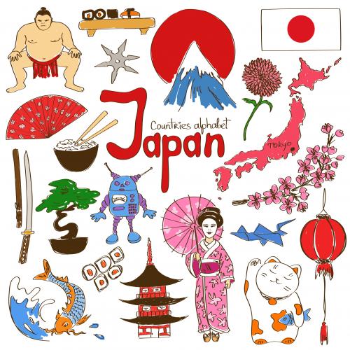 japan culture map printable kidspressmagazine com