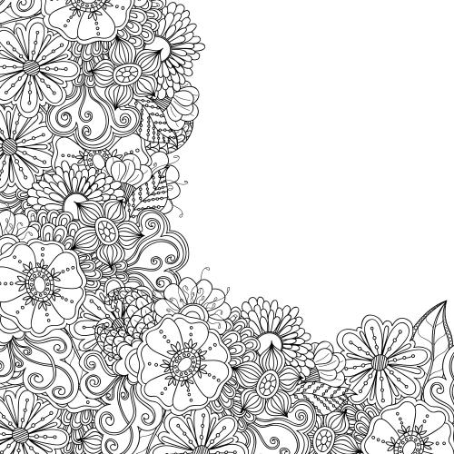 advanced flower coloring pages 7 kidspressmagazine com