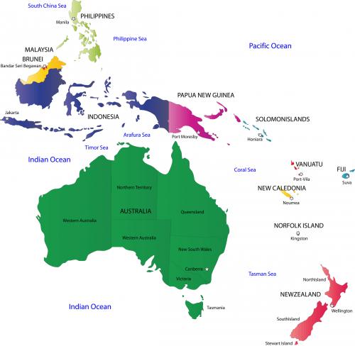 35 best free printable ocean coloring pages online map of – Australia Ocean Map