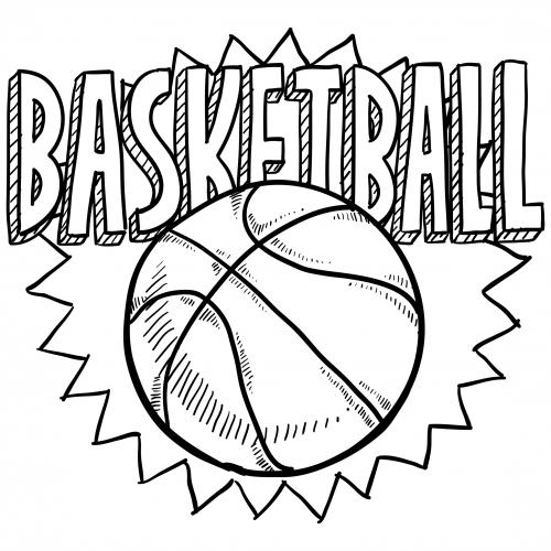sports coloring pages basketball 2 kidspressmagazine com