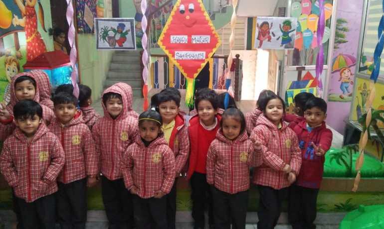 Lohri And Makar Sankranti Celebration At Kids' Pride School