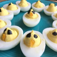 Baby Chick Deviled Eggs Recipe