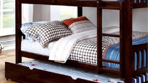 """""""Jakelynn Jackal"""" Full over Full Bunk Bed w/ Trundle – 3 Colors – LOW INVENTORY!"""