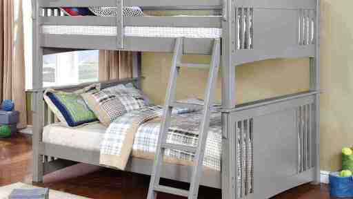 """JoJo Jeep Racer"" Gray Full over Full Bunk Bed – COMING END OF NOVEMBER!"