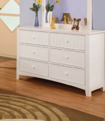 Twin Over Full White Bunk Bed Collection- dresser-kidsroom.vip
