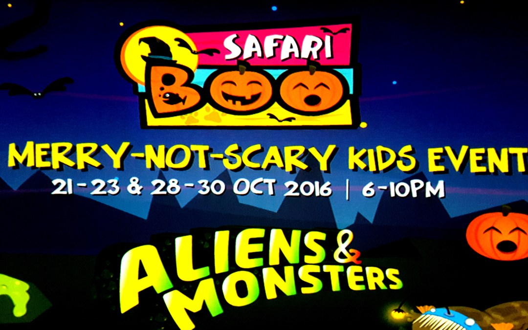 Safari Boo 2016 – A Merry Not Scary Kids Event [+ Giveaway]