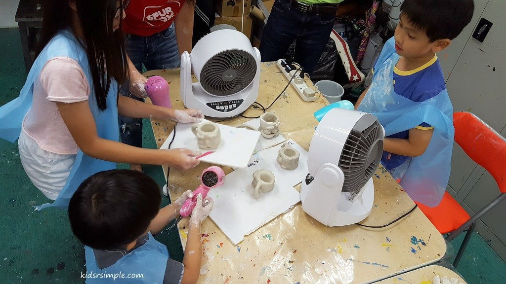 Drying the Pottery Mug