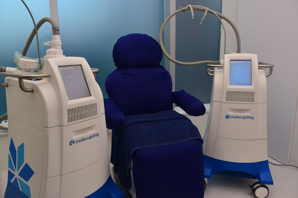 CoolSculpting machines