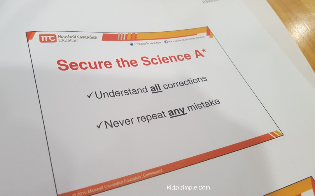 PSLE Science Workshop for Parents – How to Achieve A* (Seriously!)