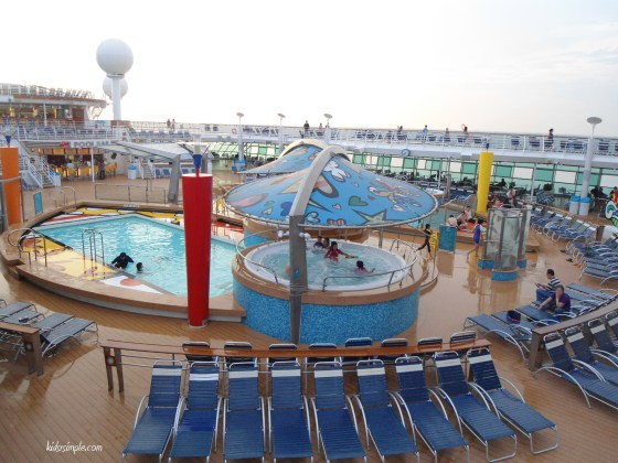 Open deck pools!