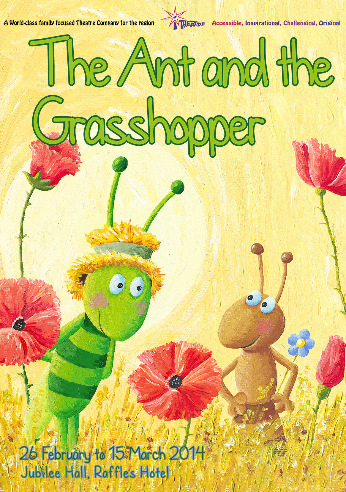 Review The Ant And The Grasshopper Show By I Theatre