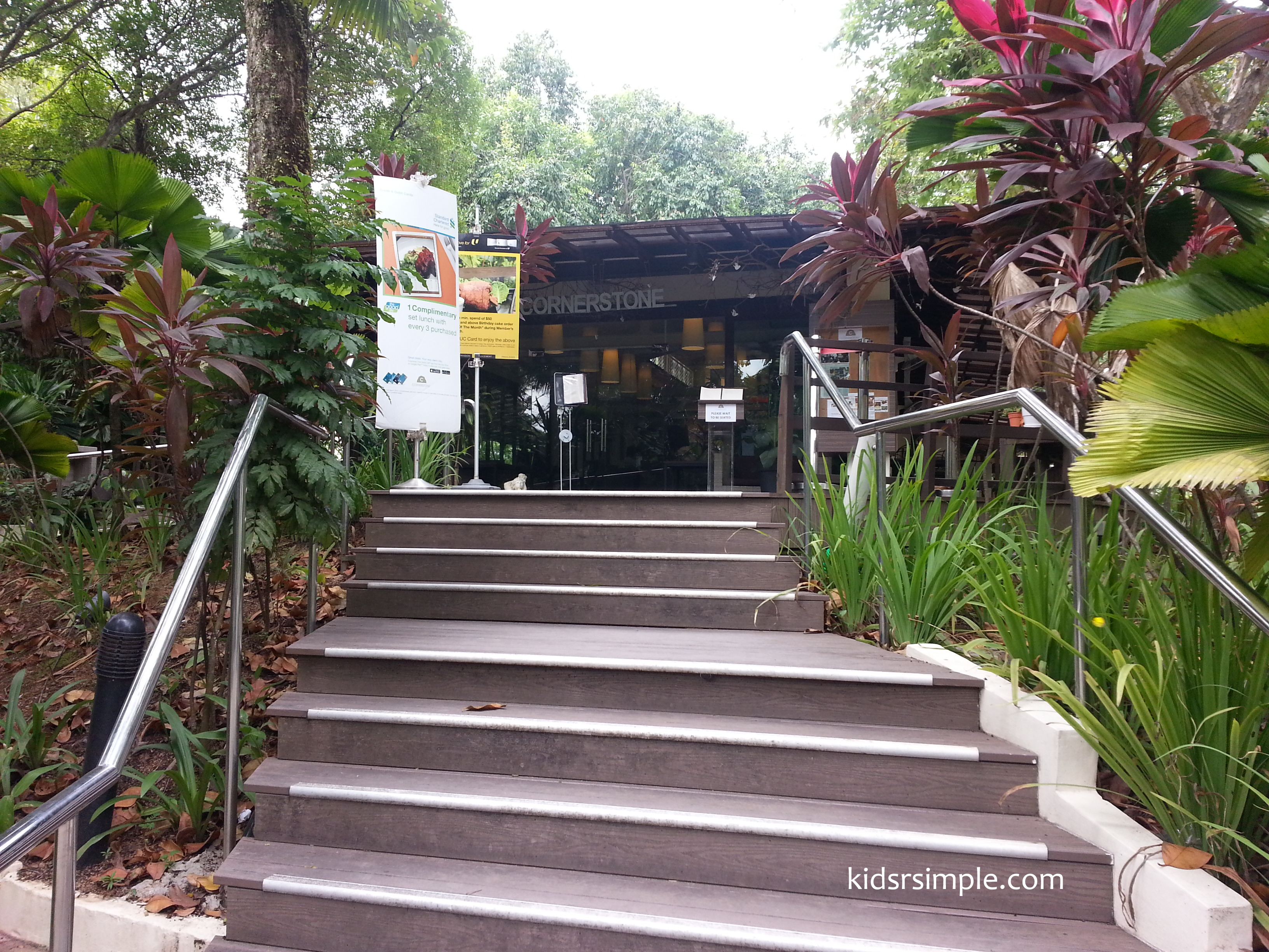 In the end I found one restaurant which could match that and the best parts were it serves fantastic food and is wholly situated among the greenery. & Cornerstone @ Bishan Park - great for mum-daughter date - Kids u0027R ...