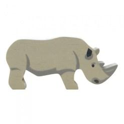 houten neushoorn speelgoed