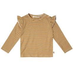 shirt lange mouw geel