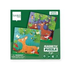 magnetische puzzel bos