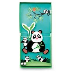 panda knikkerbaan puzzel magnetisch