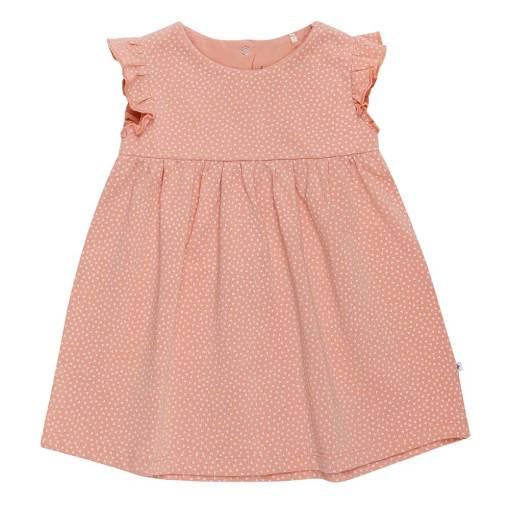 roze jurk hartjes baby