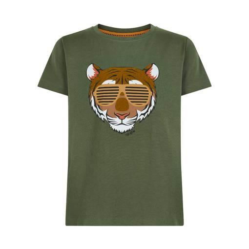 tijger t-shirt zonnebril