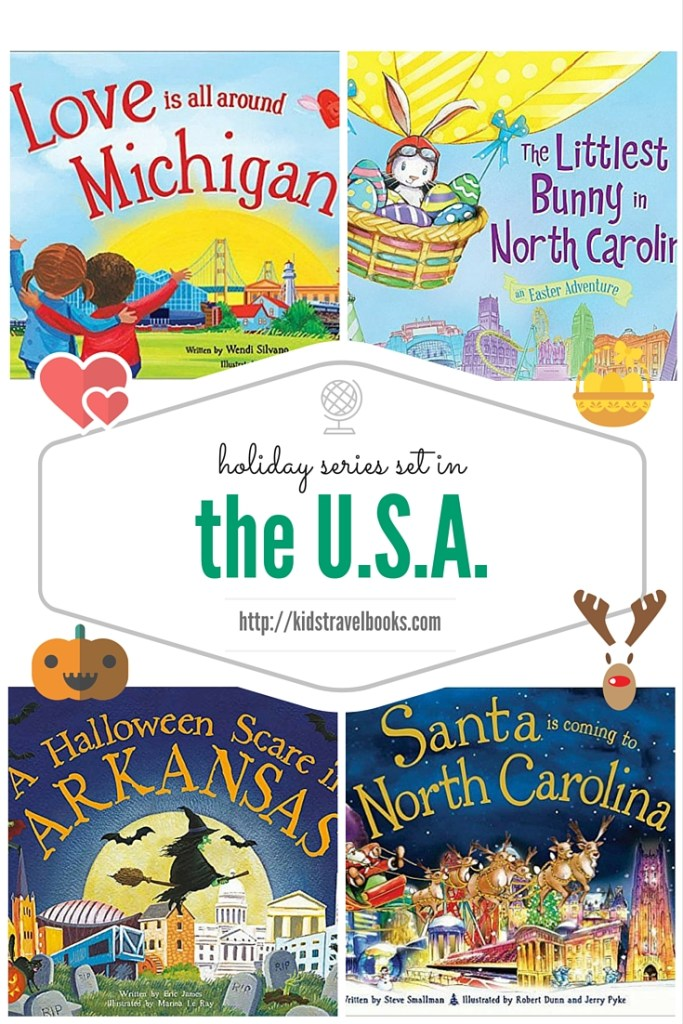 Holiday-themed book series travel U.S.