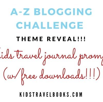 April 2016, A-Z Challenge Theme Reveal