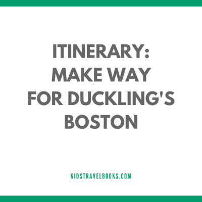 Visiting Boston with Make Way for Ducklings