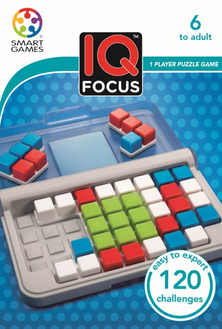 IQ Focus • Ages 6+ • $9.99 Available in March 2017,