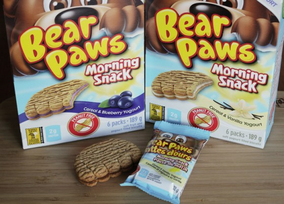 bear paws morning snack