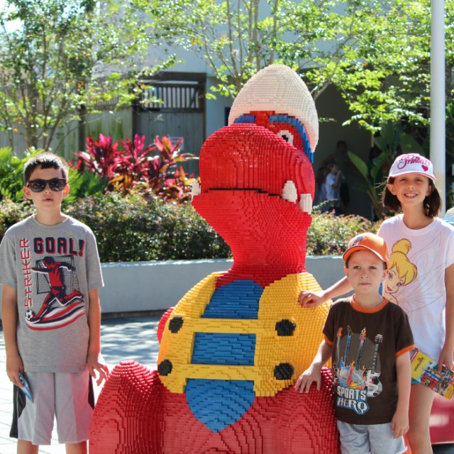 He found his life at Legoland